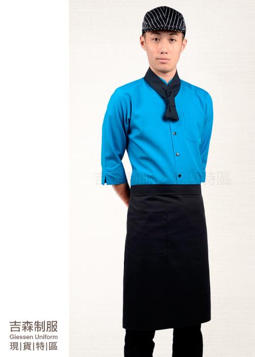 圍裙/餐飲制服/制服/外場制服/配件/餐廳制服/團體制服/襯衫/頭巾/工作服/領巾/廚師服/背心